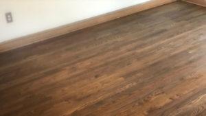 hardwood floor install 4