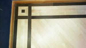 hardwood inlay work