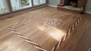 wood floor inlay 2