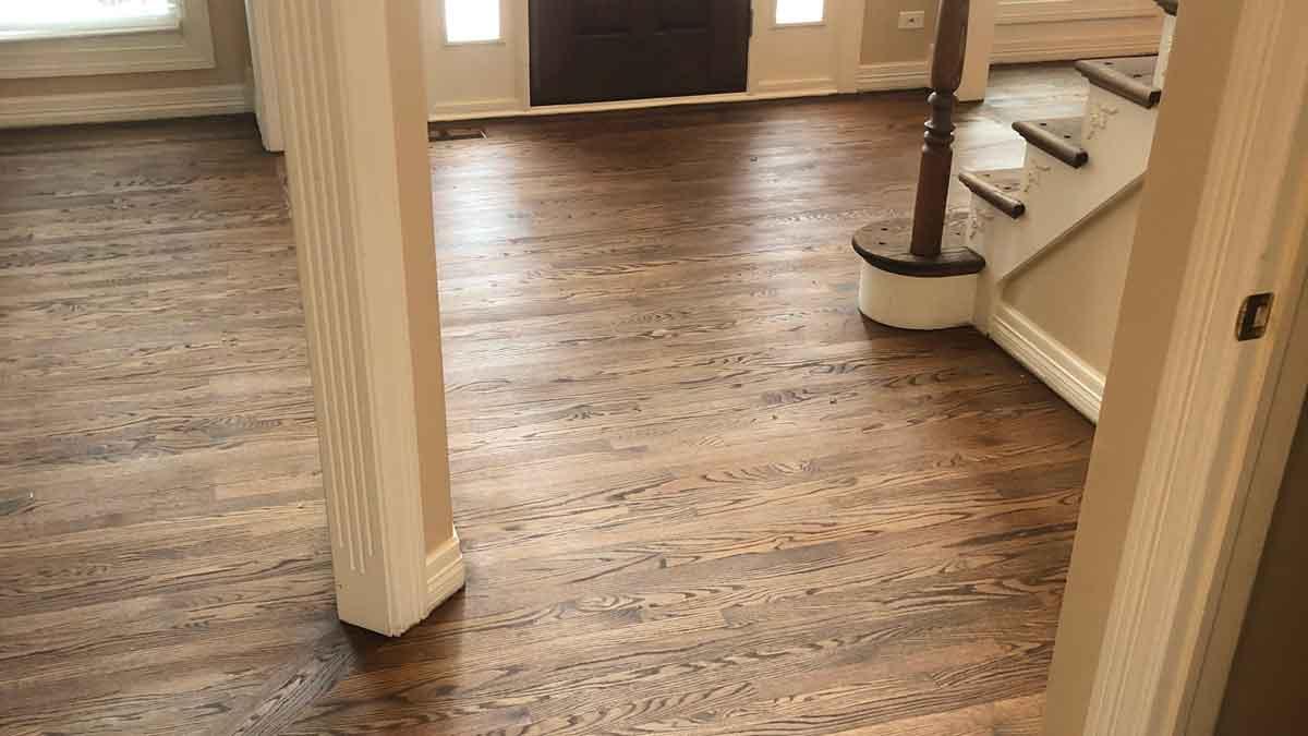 wood floor installation western suburbs