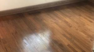 wood floor refinishing aurora