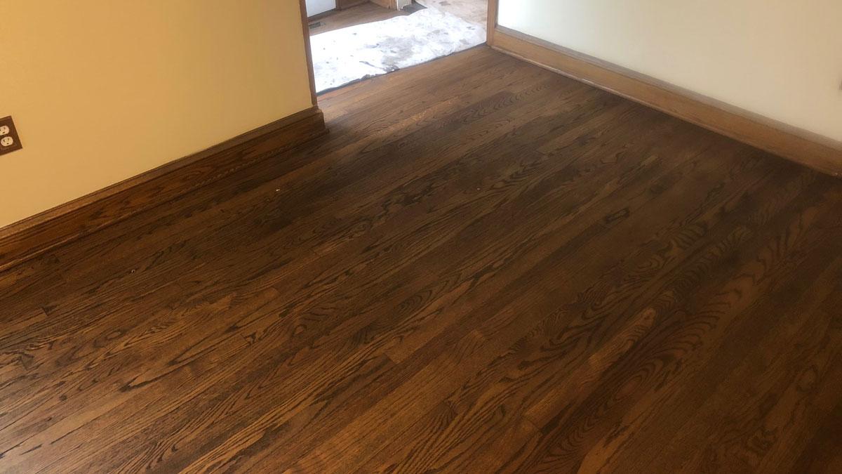 wood floor refinishing western suburbs